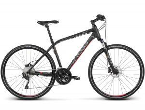 Rower Kross Evado 7.0 męski czarno-czerwony