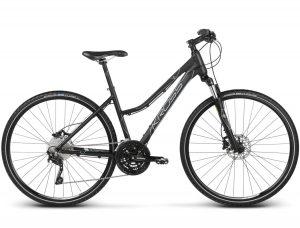 Rower Kross Evado 7.0 damski czarno-stalowy