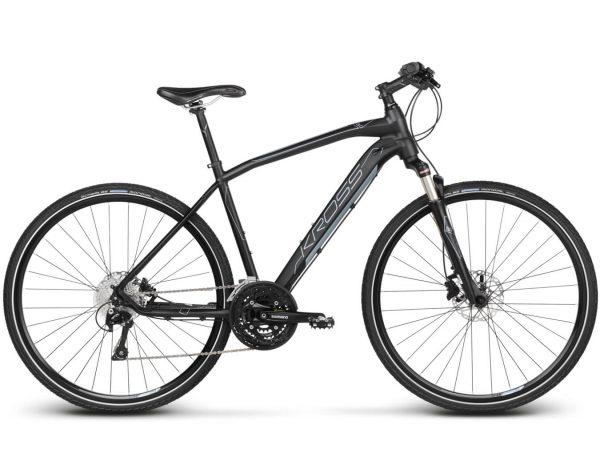 Rower Kross Evado 8.0 czarno-stalowy
