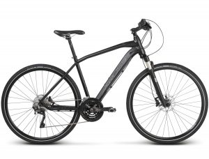 Rower Kross Evado 9.0 czarno-srebrny