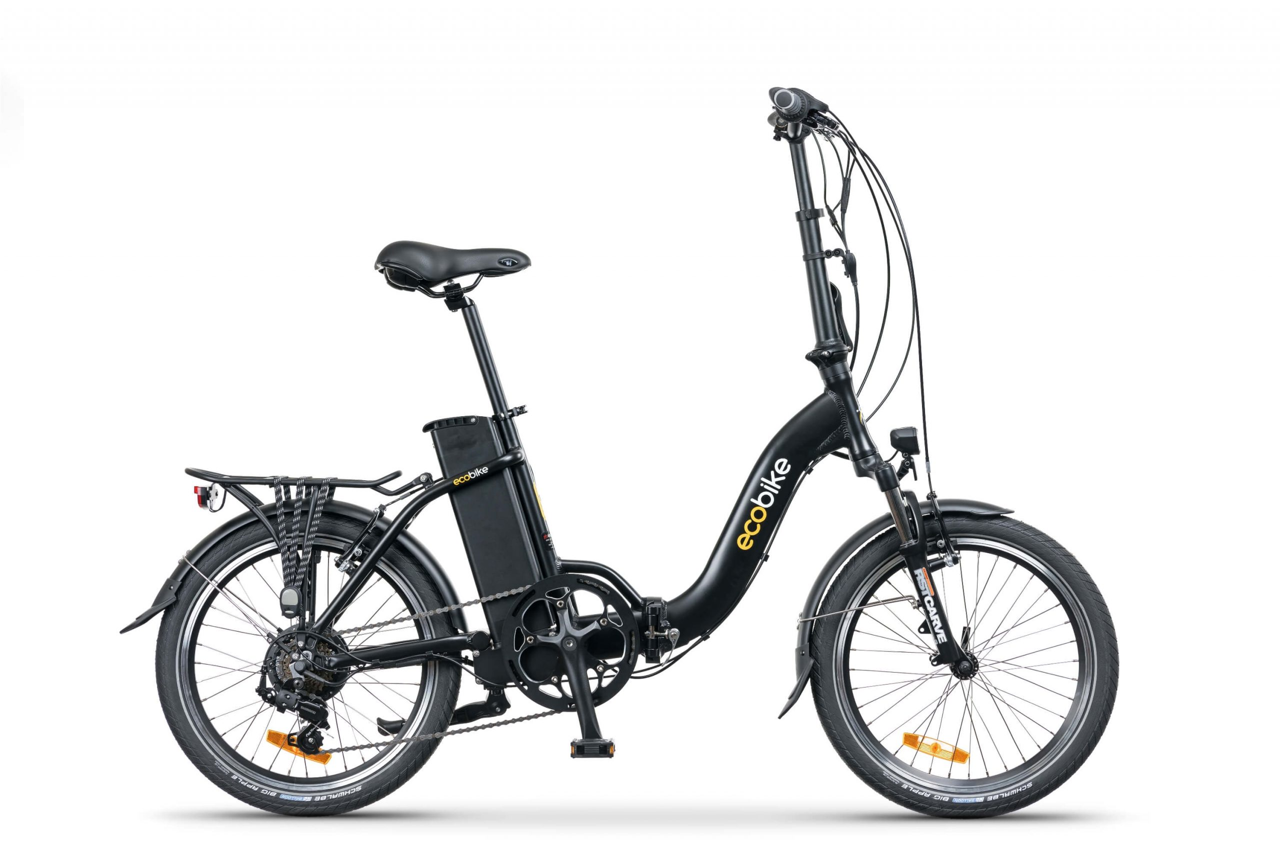 Rower ecobike Even black