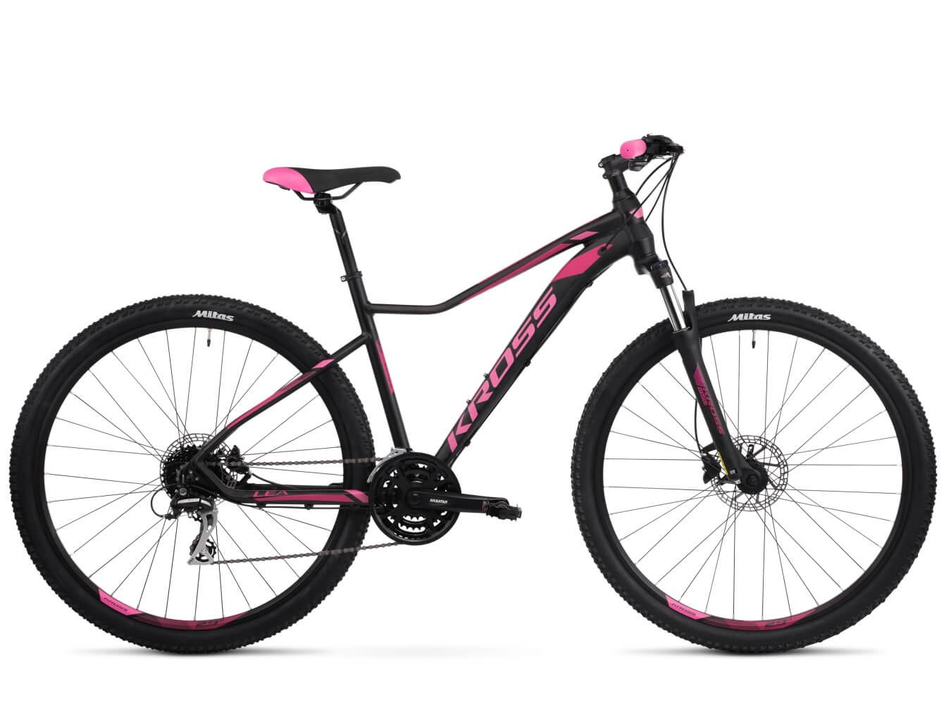 Rower Kross Lea 6.0 czarno-różowa