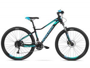 Rower Kross Lea 7.0 czarno-niebiesko-turkusowa