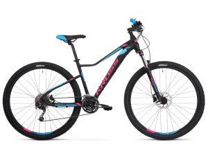 rower Kross Lea 8.0 czarno-różowo-niebieski