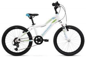Kross rower Lea mini 2.0 biało-niebieska