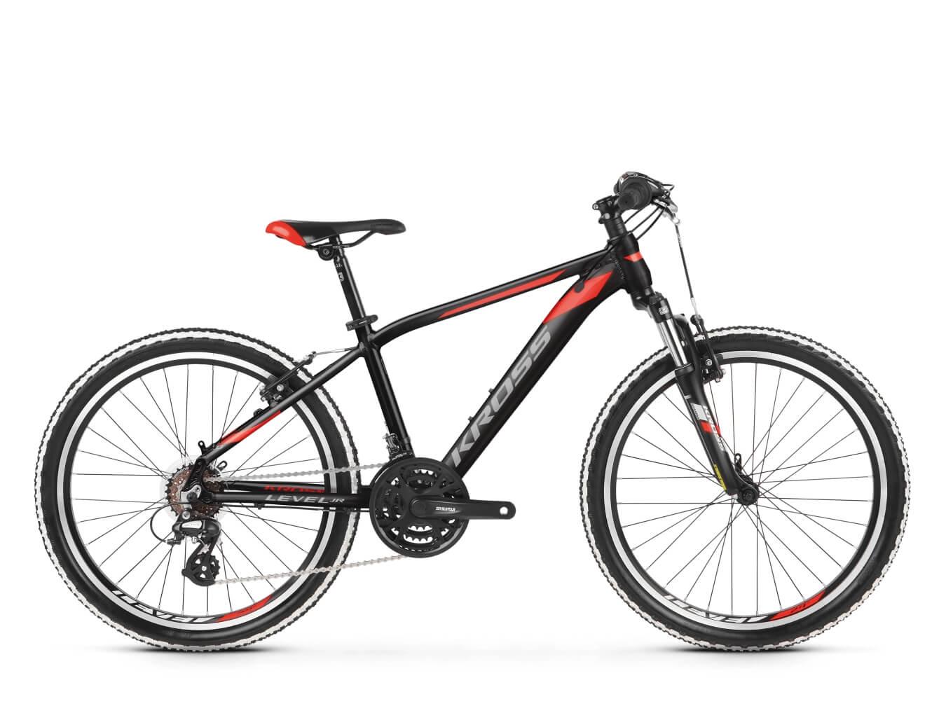 Kross rower Level jr. 2.0 czarno-czerwony