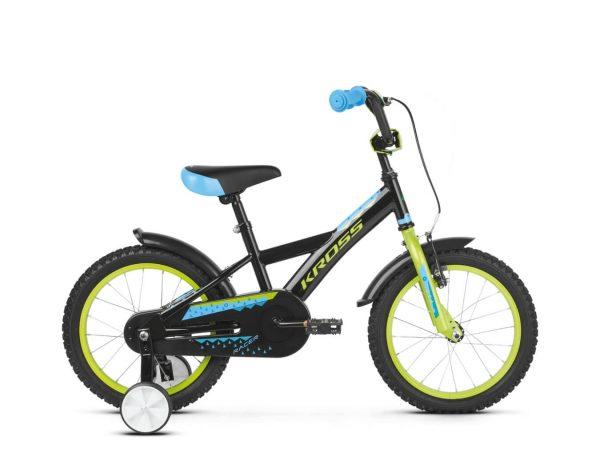 Rower Kross Racer 3.0 czarno-limonkowy