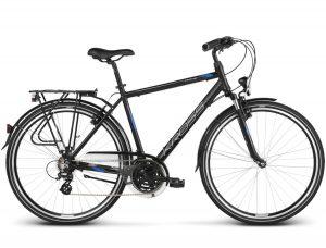 Rower Kross Trans 2.0 czarno-niebieski