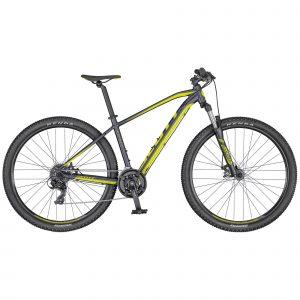 Rower Scott Aspect 970 srebrno-żółty