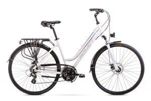 Rower Romet Gazela 2 biało-niebieski