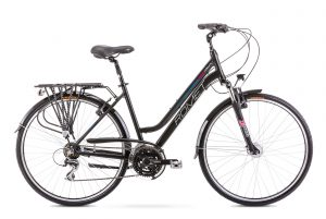 Rower Romet Gazela 3 czarno-niebieska