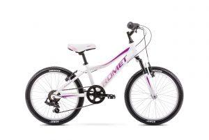 Rower Romet Jolene 20 Kid 2 biało-różowy