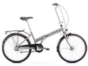 Rower Romet Jubilat 3 srebrny
