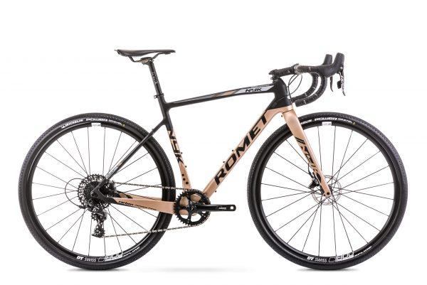 Rower Romet NYK czarno-złoty