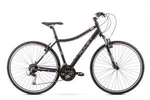 Rower Romet Orkan 2 czarno-fioletowy