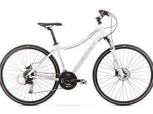 Rower Romet Orkan 4 biały damski