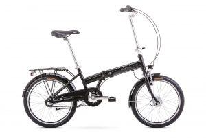 Rower składany Romet Wigry 4 czarny