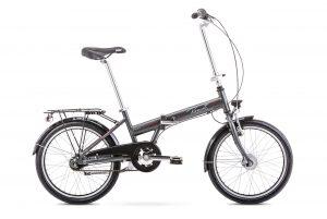 Rower składany Romet Wigry 4 grafitowy