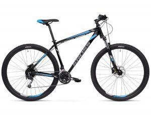 Rower Kross Hexagon 7.0 czarno-grafitowo-niebieski
