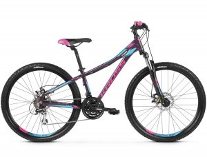 rower Kross Lea 4.0 fioletowo-różowy