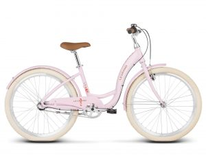 Rower Le Grand Lille jr różowy
