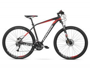 Rower Kross Level 3.0 czarno-czerwony
