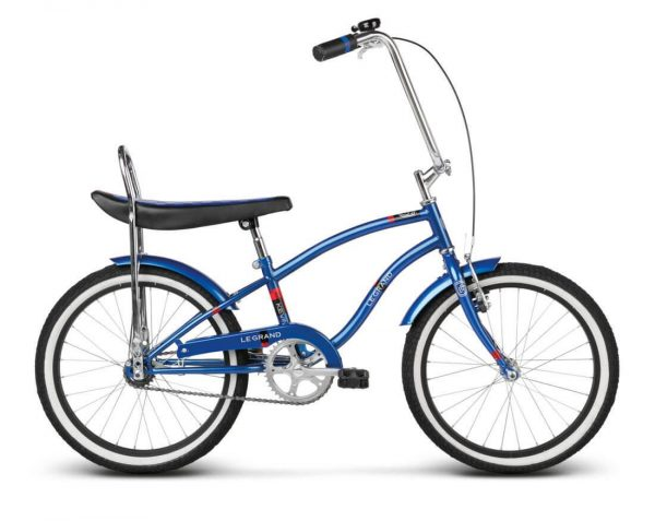 Rower Le Grand Kevin niebieski