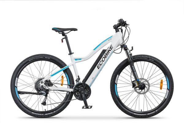 Rower elektryczny Ecobike S3 biały