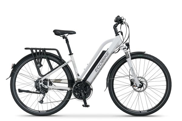 Rower elektryczny Ecobike S-cross biały