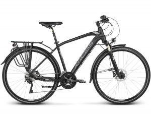 rower Kross Trans 11 czarno-grafitowo-srebrny