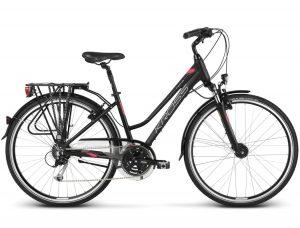 Rower Kross Trans 5.0 D 2019 czarno-czerwony