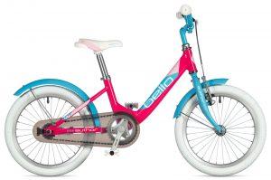 Rower Author Bello różowo-błękitny