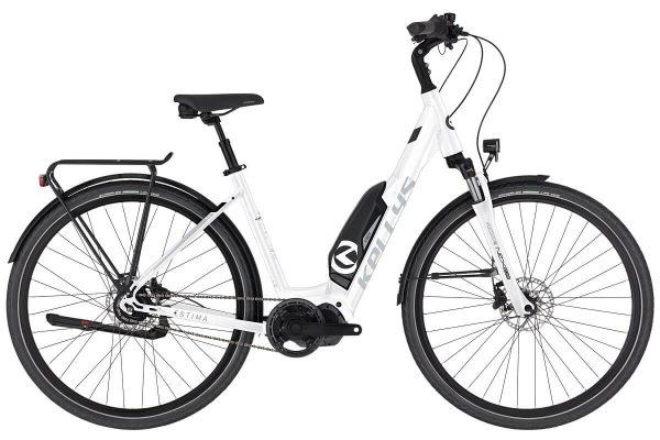 Rower elektryczny Kellys Estima biały