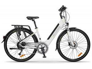 Ecobike Rower elektryczny X-Cross biały damski 2021