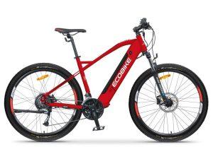 Ecobike rower elektryczny SX4 czerwony 2021