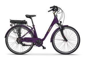 Rower Ecobike Trafik violet