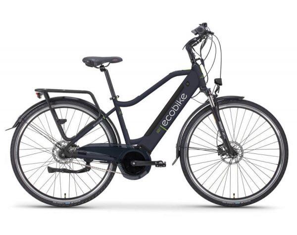 Rower elektryczny Ecobike MX granatowy 2021