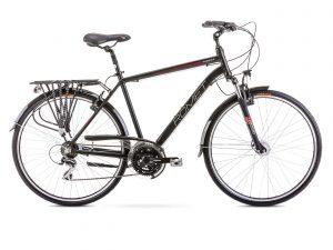 Rower Romet Wagant 3 czarno-czerwony
