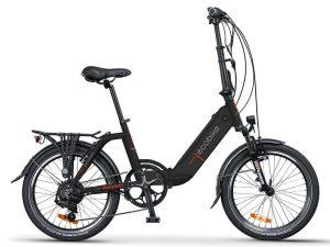 ecobike rower elektryczny Rhino czarny 2021